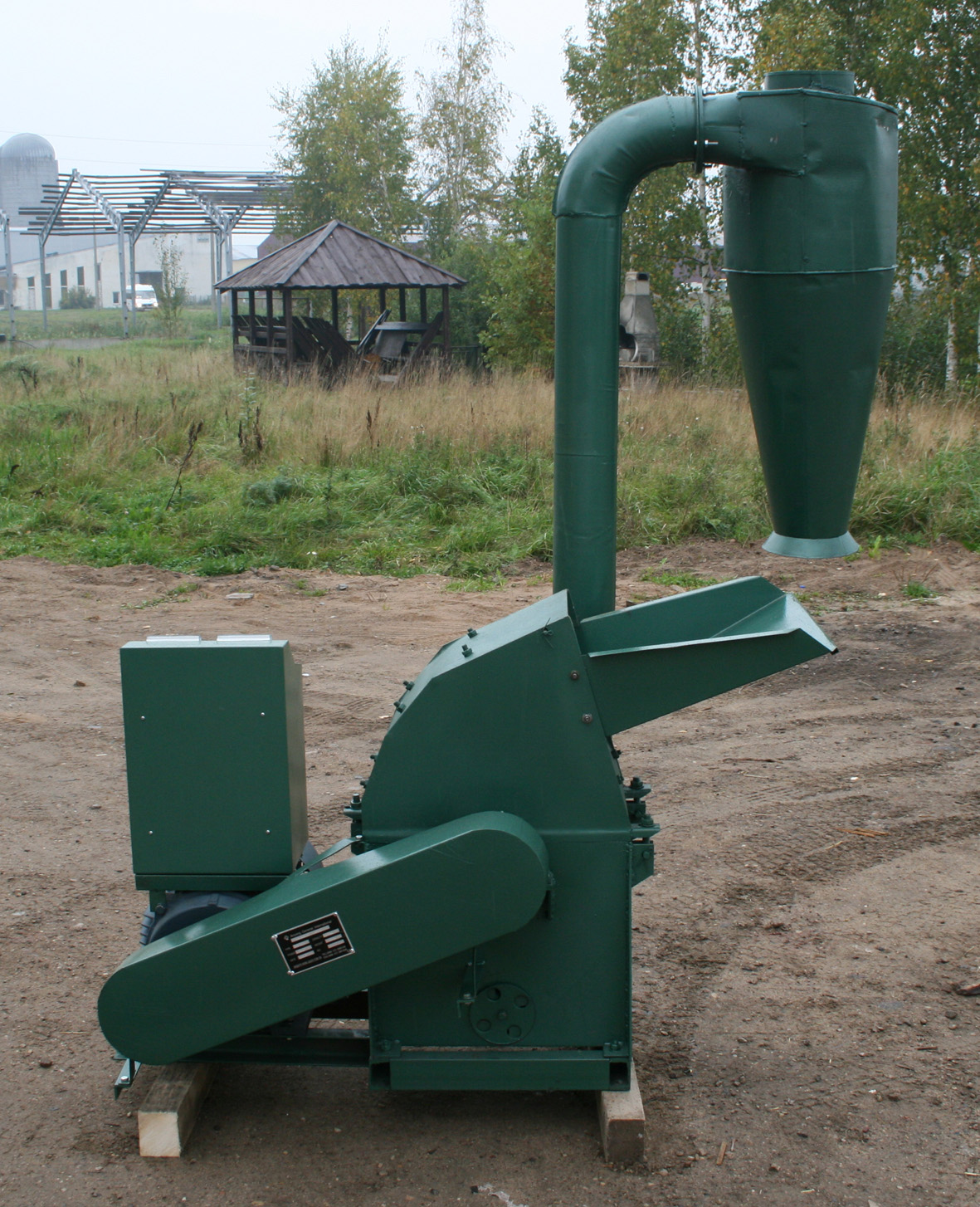 hammer mill TFS 420 with cyclone
