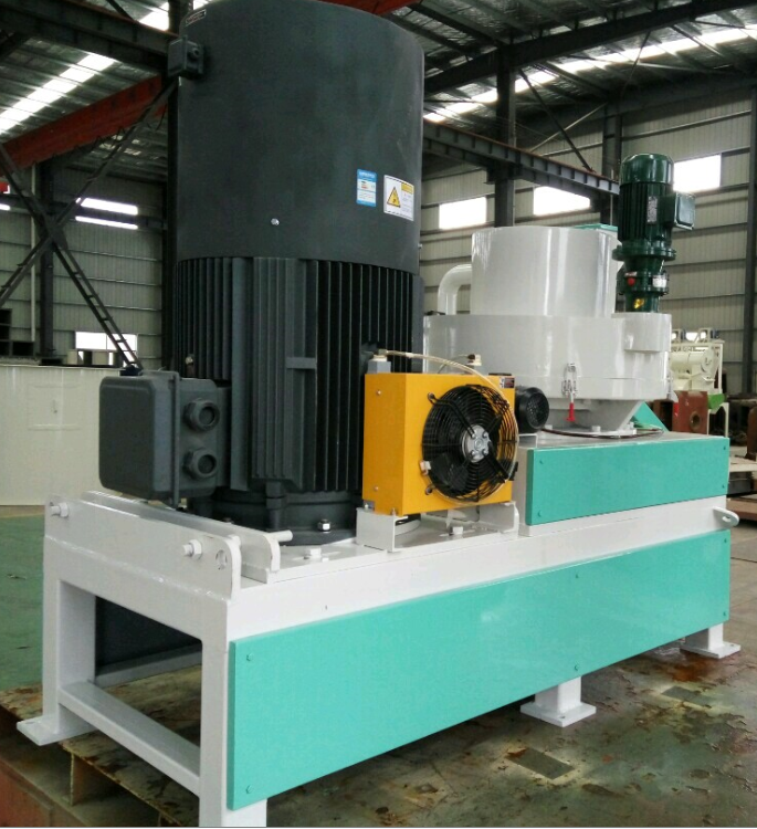 Vertical ring die pellet mill 1